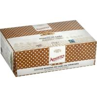 Terrones de azúcar moreno sin envasar AZUCARERA, caja 1 kg