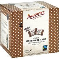 Azúcar moreno en sobre AZUCARERA, caja 400 g