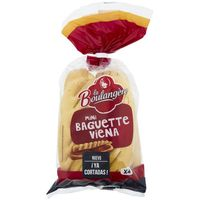 Minibaguette vienesa LA BOULANGERE, 4 uds., paquete 220 g