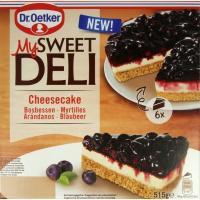 Tarta cheesecake de arándanos DR. OETKER, caja 525 g