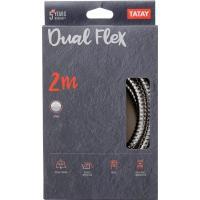 Flexo para baño de metal dual flex (2m) TATAY, 2,3x2,3x200cm