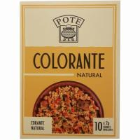 Colorante natural POTE, caja 20 g