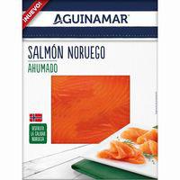 Salmón ahumado AGUINAMAR, bandeja 85 g