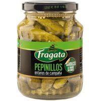 Pepinillos agridulces FRAGATA, frasco 190 g
