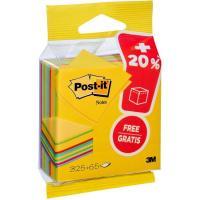Notas adhesivas en colores ultra, 76x76mm, 325 hojas+ 20% gratis POST-IT, 1 ud
