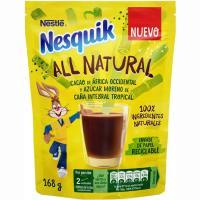 Cacao soluble all natural NESQUIK, bolsa 168 g