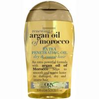 Aceite capilar extra penetrante argán marroquí OGX, bote 100 ml