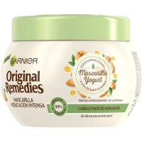 Mascarilla leche de almendras ORIGINAL REMEDIES, tarro 200 ml