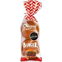 Burger brioche DULCESOL, 4 unid., paquete 340 g