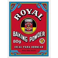 Levadura en polvo ROYAL, caja 80 g