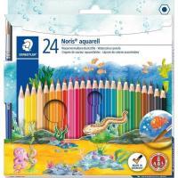 Lápices acuareables de colores surtidos Noris aquarell STAEDTLER, Pack 24 uds