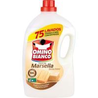 Detergente líquido Marsella OMINO BIANCO, garrafa 75 dosis
