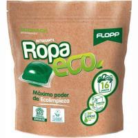 Detergente en cápsulas eco FLOPP, bolsa 16 dosis