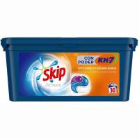 Detergente en cápsulas poder Kh7 SKIP, caja 30 dosis