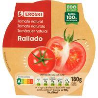 Tomate rallado EROSKI, tarrina 200 g