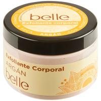 Exfoliante corporal de argán piel seca belle, tarro 300 ml