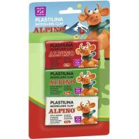 Plastilina ALPINO, 50gr, 3uds