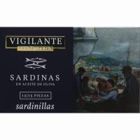 Sardinillas en aceite de oliva 12/15 CENTENARIO, lata 120 g