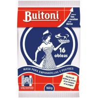 Oblea para empanadilla BUITONI, paquete 160 g