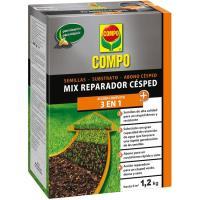 Mix reparador de césped COMPO, caja 1,2 kg