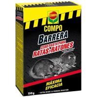 Barrera rodenticida pasta COMPO, caja 150 g