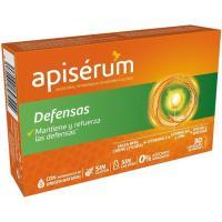 Jalea real vitaminada defensas APISERUM, caja 30 viales