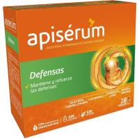 Jalea real vitaminada defensas APISERUM, caja 18 viales