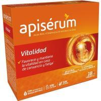 Jalea real vitaminada vitalidad APISERUM, caja 18 viales