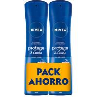 Desodorante P&C original NIVEA, spray, pack 2x200 ml