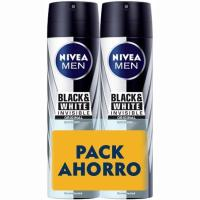Desodorante para hombre B&W original NIVEA Men, pack 2x200 ml