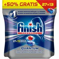 Lavavajillas máquina FINISH Quantum Max, bolsa 27+13 dosis