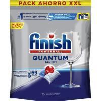 Lavavajillas máquina FINISH Quantum Max, bolsa 72 dosis
