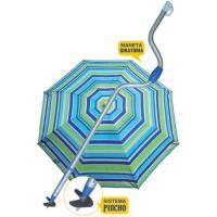 Sombrilla con mástil 160 cm protección UPF50 1,5 kg, 1 ud