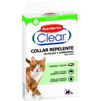 Collar repelente para gatos-gatitos CLEAR, pack 1 ud.