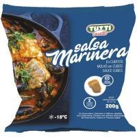 Cubitos de salsa marinera TUTTI PASTA, bolsa 200 g