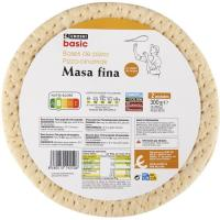 Base de pizza EROSKI basic, pack 2x150 g