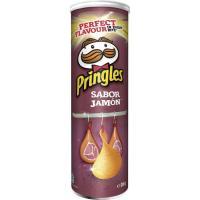 Aperitivo sabor jamón PRINGLES, tubo 200 g