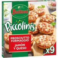 Piccolinis de jamón-queso BUITONI, caja 270 g