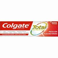 Dentífrico protector placa COLGATE Total, tubo 75 ml
