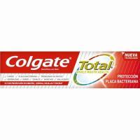 Dentífrico protector placa COLGATE Total, tubo 75 ml