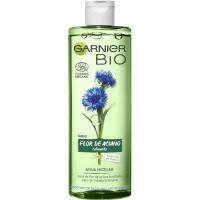 Agua micelar flor de aciano GARNIER BIO, bote 400 ml