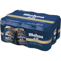 Cerveza 0,0 tostada MAHOU, pack 12x33 cl