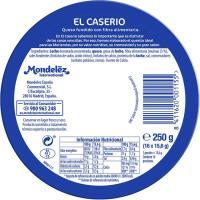 Queso fundido EL CASERÍO, 16 porciones, caja 250 g