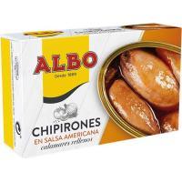 Chipirón relleno en salsa americana ALBO, lata 115 g