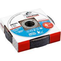 Disco de corte de acero de 115mm KREATOR KRT070110, 4+2u