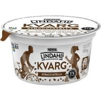Bebida láctea proteica con stracciatella LINDAHLS, tarrina 150 g
