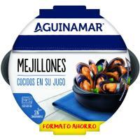 Mejillón en su jugo AGUINAMAR, bandeja 900 g