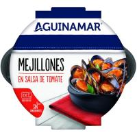 Mejillón en salsa de tomate AGUINAMAR, bandeja 500 g