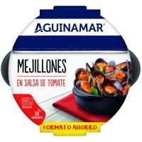 Mejillón en salsa de tomate AGUINAMAR, bandeja 900 g