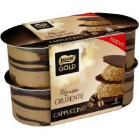 Mousse de capuccino NESTLÉ GOLD, pack 4x57 g